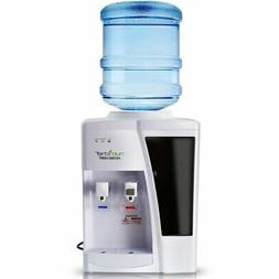 NutriChef PKTWC10WT Water Dispenser | Hot & Cold Water Coole