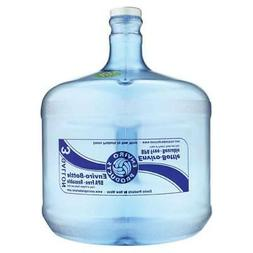3 Gallon Plastic Drinking Water Bottle Container Jug BPA Fre