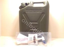 Plastic Jerry Can Military Water Can 5 Gallon Storage Contai