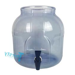 Plastic Water Crock Pot Dispenser Faucet Valve Spigot Jug PV