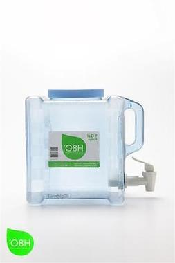 H8O Polycarbonate 1 Gallon Portable Refrigerator Bottle with