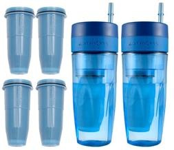ZeroWater 26oz Portable Filtration Tumbler and 4-Pack Tumble