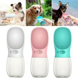 Portable Pet Water Bottle Dispenser for Dog Cat Puppy Travel