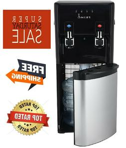 Primo Pro-Plus Bottom-Load Hot and Cold Water Dispenser Blac