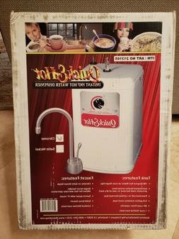 Waste King Quick & Hot Water Dispenser Faucet & Tank - Chrom