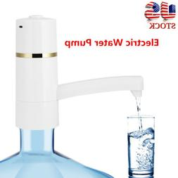 Rechargeable Electric Water Pump Drinking Gallon Bottle Disp
