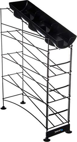 San Jamar Wireworks Cup Dispenser and Lid Organizer, 2-Tier,