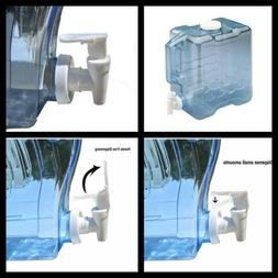 Slimline Beverage Container Clear 2 Gallon water jug Storage