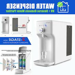 Smart UV Sterilize Reverse Osmosis Water Filter System Purif