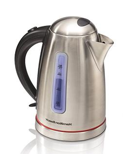 Hamilton Beach® Stainless Steel 1.7-Liter Electric Kettl