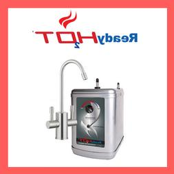 Stainless Steel Hot Water Dispenser System With Brushed Nick