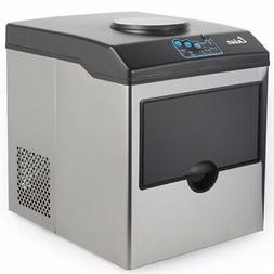 5 Gallon Water Dispenser with Built-In Ice Maker Machine Cou