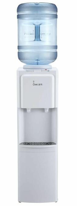 Primo Top Loading Hot Cold Water Dispenser White Cooler 3 Or