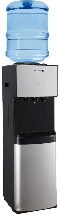 Avalon Top Loading Water Cooler Dispenser Stainless Steel w/