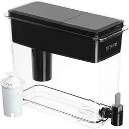 Brita UltraMax Water Filter Dispenser, Black, 18 Cup, BPA Fr