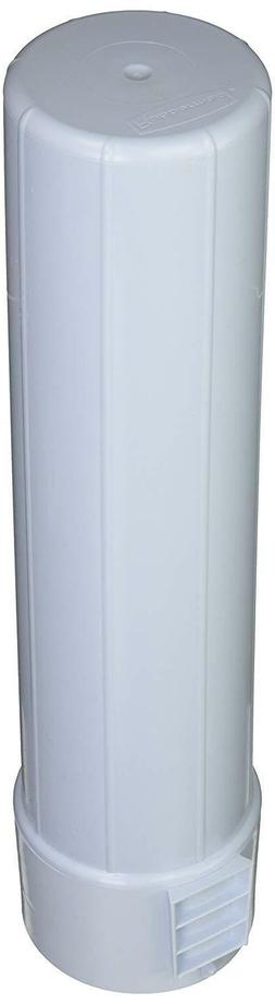 Rubbermaid Water Cooler Cold Warm Cup Dispenser Holder White