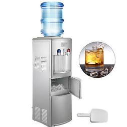 water cooler dispenser with ice maker hot