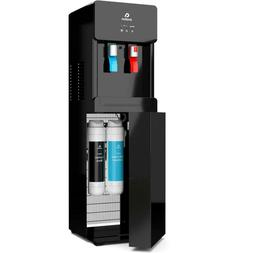Water Cooler Hot Cold Dispenser Self-Cleaning Touchless Bott