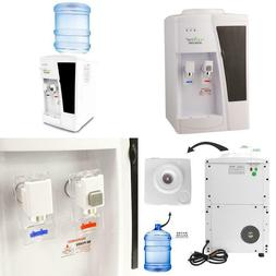 Nutrichef Water Dispenser - Hot And Cold Water Cooler