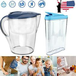 Water Filter Pitcher 15 Cup Dispenser Filtration Replacement