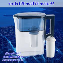 Water Filter Pitcher 3.5L Big Jug Dispenser Home Kitchen Coo