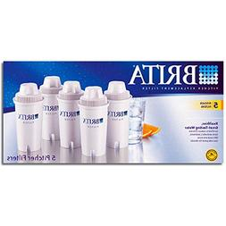 Brita Water Filter Pitcher Replacement Filters, 5 ea