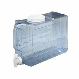 Water Jug 2.5 Gallon for Container With Spigot Handle Plasti