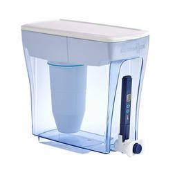 Zero Water Pitcher 5 Stage Advanced Filtration 20 Cup Pour D